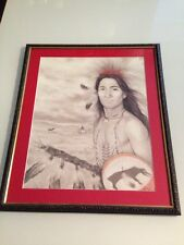 Donald Art Company / Young Native American Warrior / Frank / 1992