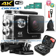 Ultra 4K HD 1080P Waterproof WiFi SJ4000 DV Action Sports Camera Video Camcorder
