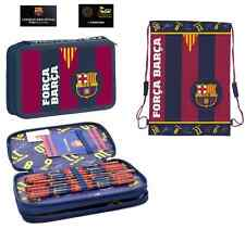 FC BARCELONA PENCIL CASE + SHOE , GYM BAG OFFICIAL NEW MESSI NEYMAR SUAREZ
