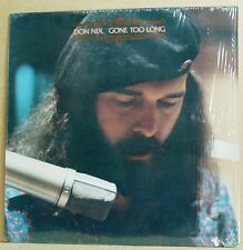LP Don Nix  Gone Too Long  Cream Records US 1976