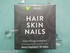 It Works! HAIR SKIN NAILS ~NIB~ Nourishing Complex 60 Tablets ~ 1 Month Supply
