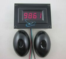 12V 4 Digital Red LED People Count Counter+Photoelectric Infrared Detector Store