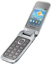 Samsung GT-C3590 Titanium Silver Silber Klapphandy Ohne Simlock (B-Ware)