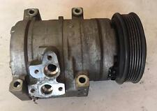 FORD BA BF FALCON AIR CONDITIONING COMPRESSOR 6 CYLINDER 3 MONTHS WARRANTY