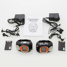 2 x Practical Freetalker Walkie Talkie Two 2-Way Radio Wrist Watch Walkie Talkie