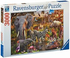 Ravensburger African Animals - 3000 Piece Puzzle, New, Free Shipping