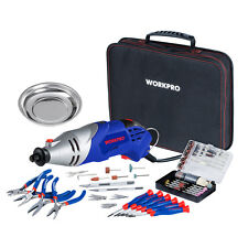 WORKPRO 152PC Rotary Tool Kit Universal Accessories Fit Major Brands As Dremel