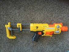 Pre Owned Nerf Barricade RV-10.  N-Strike.  No darts.