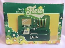 Otto Simon Fleur Boxed Bath & Toilet Dutch Sindy 80's