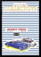 COLLECTOYS  29 eme  vente de jouets anciens     23 février 2002