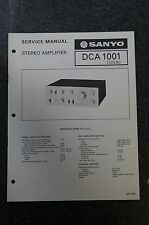 Sanyo DCA 1001 Service Manual