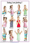 Emotions & Feelings , A5 POSTERS OR A4 POSTERS~Nursery~Childminder~School