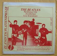 The Beatles No Obvious Title A Collection First Amendment LP ZAP 7853 SEALED!