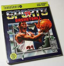 NEC TURBO GRAFX 16 CARTRIDGE: TV SPORTS BASKEBALL PC ENGINE *NEUWARE/BRAND NEW!