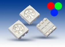 S932- 100 Stück SMD RGB LED PLCC-6 5050 rot grün blau 3-Chip LEDs red green blue