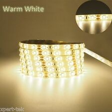 5M 3528 300SMD Flexible Light LED Strip Lamp Waterproof  Warm White Super Bright