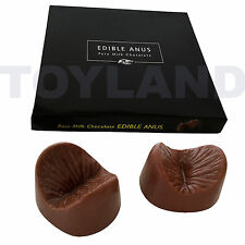 EDIBLE ANUS ADULT CHOCOLATES HEN NIGHT PARTY STAG DO NOVELTY RUDE SEXY FUN GIFT