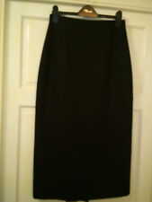 Lovely Condition M&S Per Una black/brown skirt  size 10r