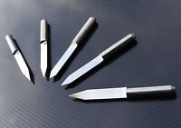 5x solid carbide Engraving Tools PCB CNC milling choose from 60 45 30 degrees UK