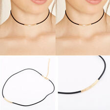 Sexy New Arrival Fashion Charm Bohemia Black Leather Choker Necklace Jewelry Hot