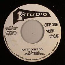 CORNELL CAMPBELL - NATTY DON'T GO  (STUDIO 1) 1975