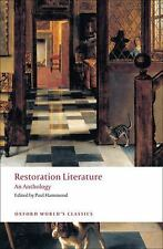 Oxford World's Classics: Restoration Literature : An Anthology by Elizabeth...