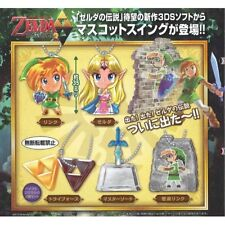 The Legend Of Zelda: A Link Between Worlds Mascot Key Chain Set