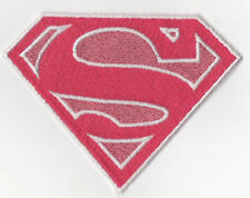 PATCH RICAMO TOPPA SUPERMAN DONNA ROSA!!!