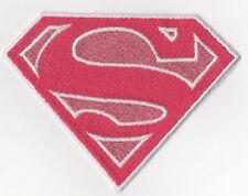 PATCH RICAMO TOPPA SUPERMAN DONNA ROSA!!!