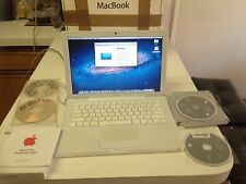 "Apple MacBook 13"" 2.2 GHz 2GB 120 GB MS Office 2011 Lion OS 10.7.5 Complete Set"