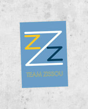 Team Zissou Sticker! Life Aquatic inspired, Bil Murray, wes anderson, laptop,
