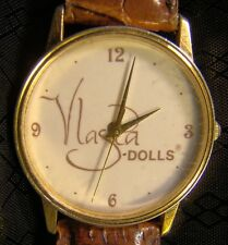 Nice Collectable Vlasta Dolls Wrist Gold Quartz Watch Image