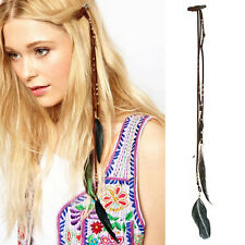 Fashion Festival Feather Hippie Headpiece Hair Accessories Boho Head Band Fancy