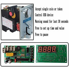 CPU coin acceptor and USB timer board KIT control power of USB device