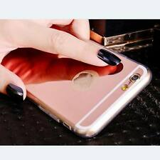 Clear Ultra Thin Mirror TPU Silicone Case Cover For iPhone 4S 5S SE 6 6S 7 Plus
