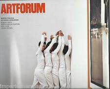 Art Forum magazine Robert Irwin North Korean painting Paul Thek Trisha Brown