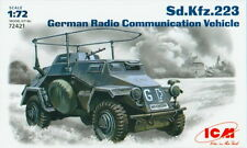 ICM 1/72 72421 WWII German Sd.Kfz.223 Radio Communication Vehicle