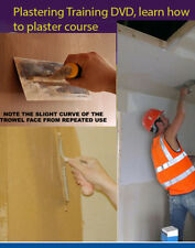 Plastering DVD Learn how to plaster course - training 2 dvd set double