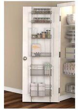 Premium Over the Door Pantry Organizer Rack Kitchen Storage Wall Closet New