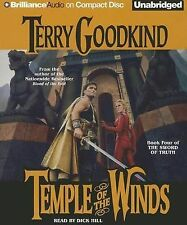 Temple of the Winds by Terry Goodkind Compact Disc Book (English)
