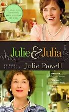 Julie Powell Julie and Julia: My Year of Cooking Dangerously Very Good Book