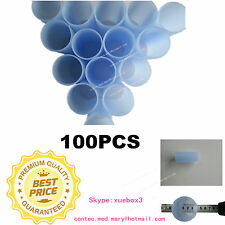 100PCs Reusable Mouthpiece For CONTEC SPIROMETER Peak Flow Meter SPM-A SP10