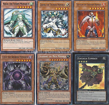 Monarch Tournament Deck - Caius - Thestalos -  Raiza - Yugioh - 50 Cards + Bonus