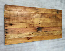 Rustic Pallet Wood Food or Still Life Photography Background Blank Sign Canvas