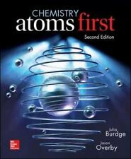 Chemistry : Atoms First by Jason Overby and Julia Burdge (2014, Hardcover)