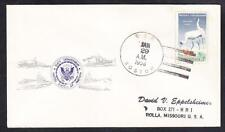 Guided Missile Cruiser USS BOSTON CAG-1 1958 Naval Cover