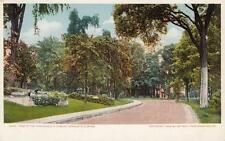 Antique POSTCARD c1905 View in Grounds U.S. Armory SPRINGFIELD, MA 18821