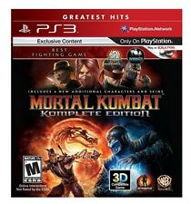 PlayStation 3 PS3 Mortal Kombat: Komplete Edition - BRAND NEW!