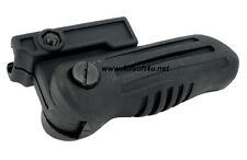 100% Brand New Tactical Black Folding Foregrip for Airsoft 20mm
