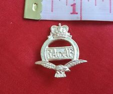 ���� Raf Auxillary Silver Plated Pin,New